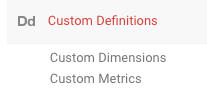 Dimensions and Metrics