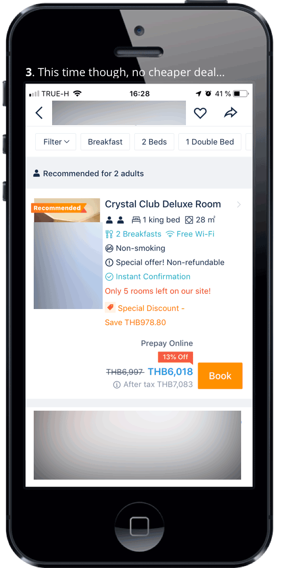 Trip.com | Mobile App & Member Rate | Booking Window 1-5
