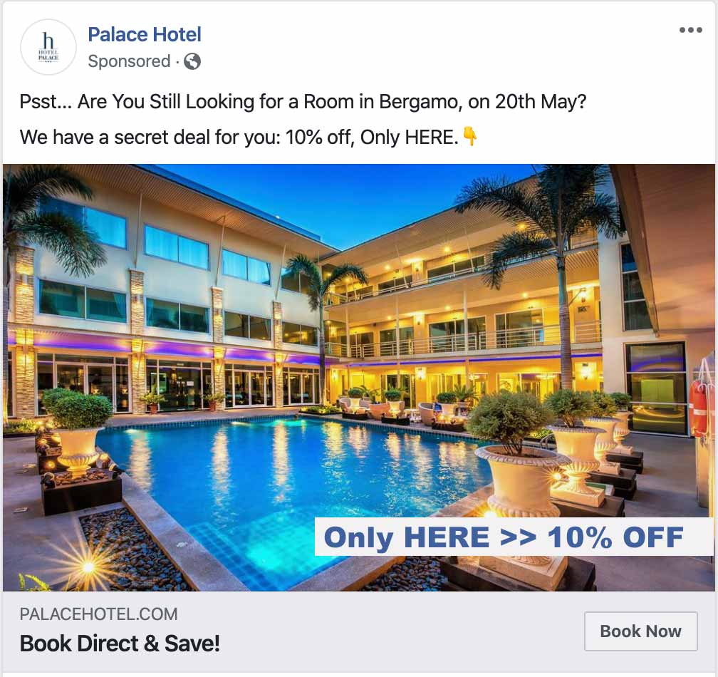 Facebook Dynamic Ads for Travel